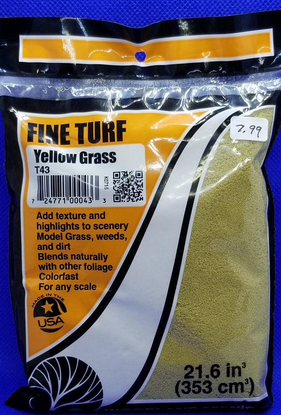 Landscaping - Fine Turf, Yellow Grass
