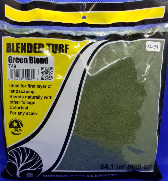 Landscaping - Blended Turf, Green Blend