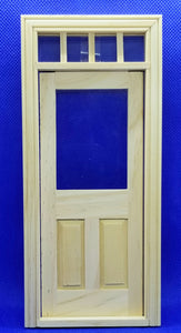 Traditional Transom Door