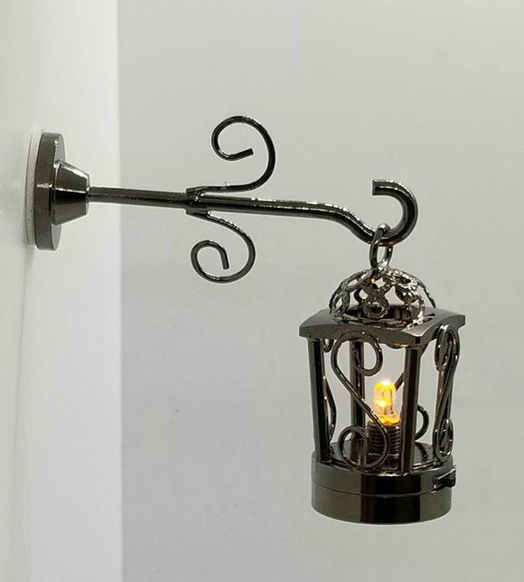 Black Coach Lamp - Soft Light
