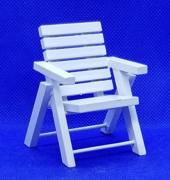 Outdoor Chair - White