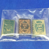 1/12 Scale Miniature Books - Printed Covers, Blank Pages Freedom Miniatures