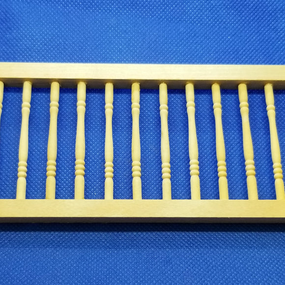 Hall Landing Rail - 1/12 Scale for Dollhouse
