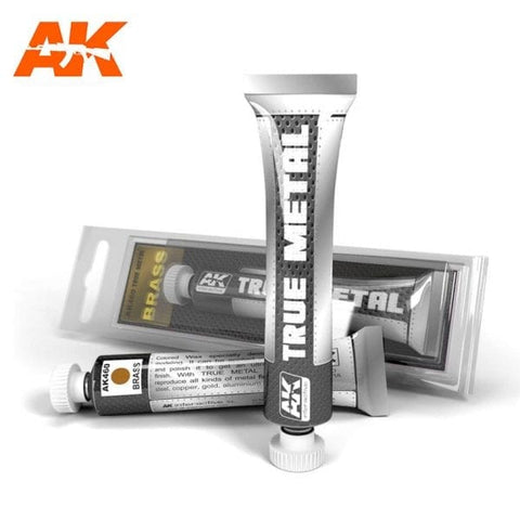 True Metal by AK Interactive - AK460 - Brass