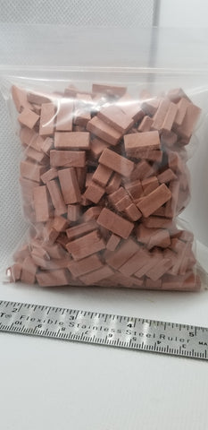 Common Red Brick by Andi Mini Brick and Stone