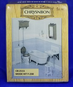 Chrysnbon Furniture Kit - Bathroom