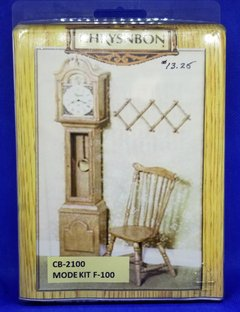 Chrysnbon Grandfather Clock and Chair Kit