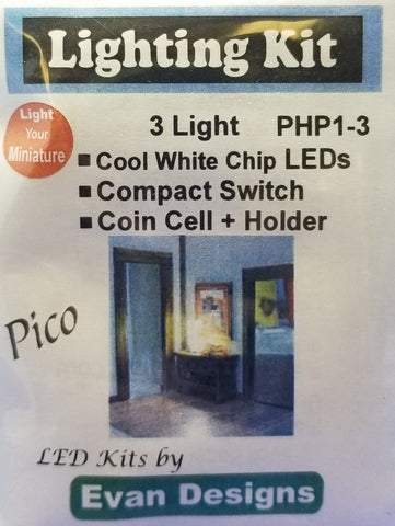 LED Light - Cool White - Pico (3)
