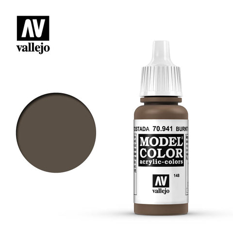 Vallejo Model Color Paint 70.941 - Burnt Umber