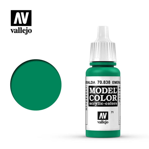 Vallejo Model Color Paint 70.838 - Emerald