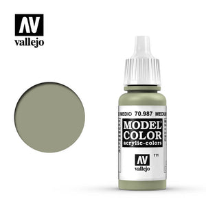Vallejo Model Color Paint 70.987 - Medium Grey