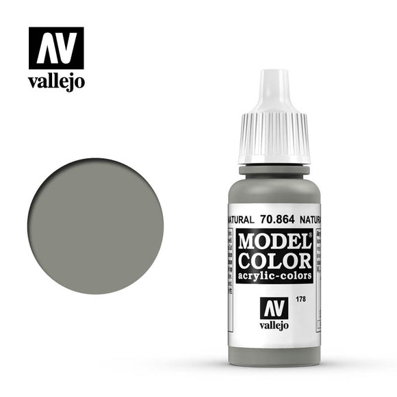 Vallejo Model Color Paint 70.864 - Natural Steel