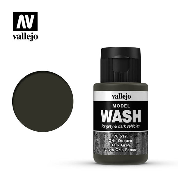 Vallejo Model Wash 76.517 - Dark Grey