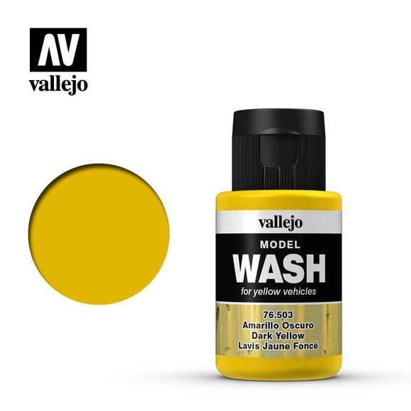 Vallejo Model Wash 76.503 - Dark Yellow