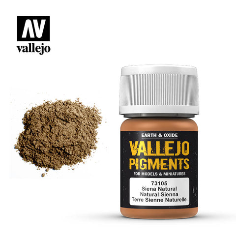 Vallejo Pigment 73.105 - Natural Sienna
