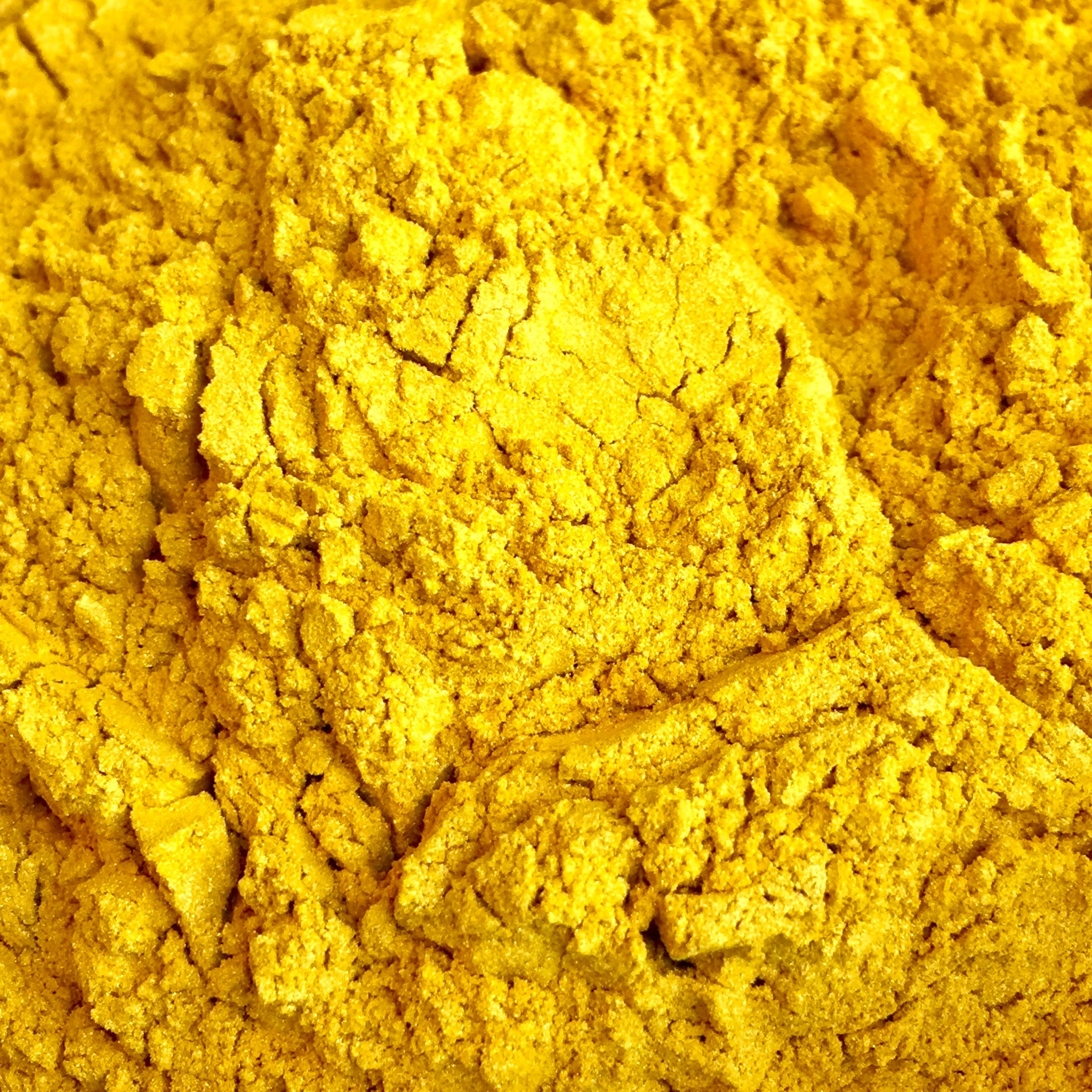 Magic Yellow Mica - Ethically Sourced and Cruelty Free