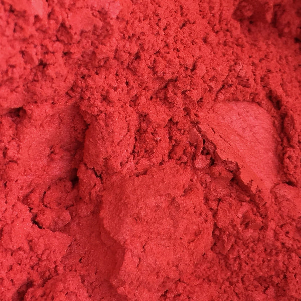 Bright Red Mica - Ethically Sourced and Cruelty Free