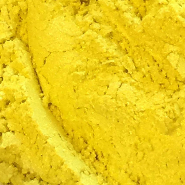 Lemon Yellow Mica- Ethically Sourced and Cruelty Free