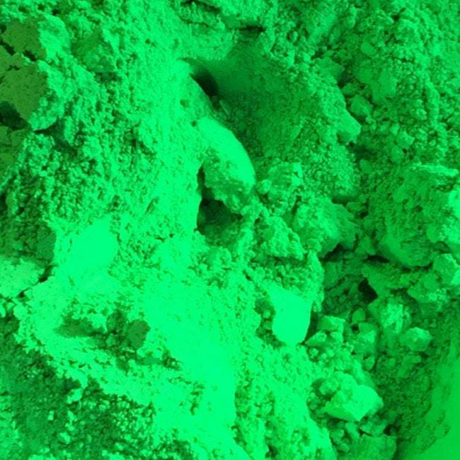 Green Fluorescent Color - Ethically Sourced and Cruelty Free
