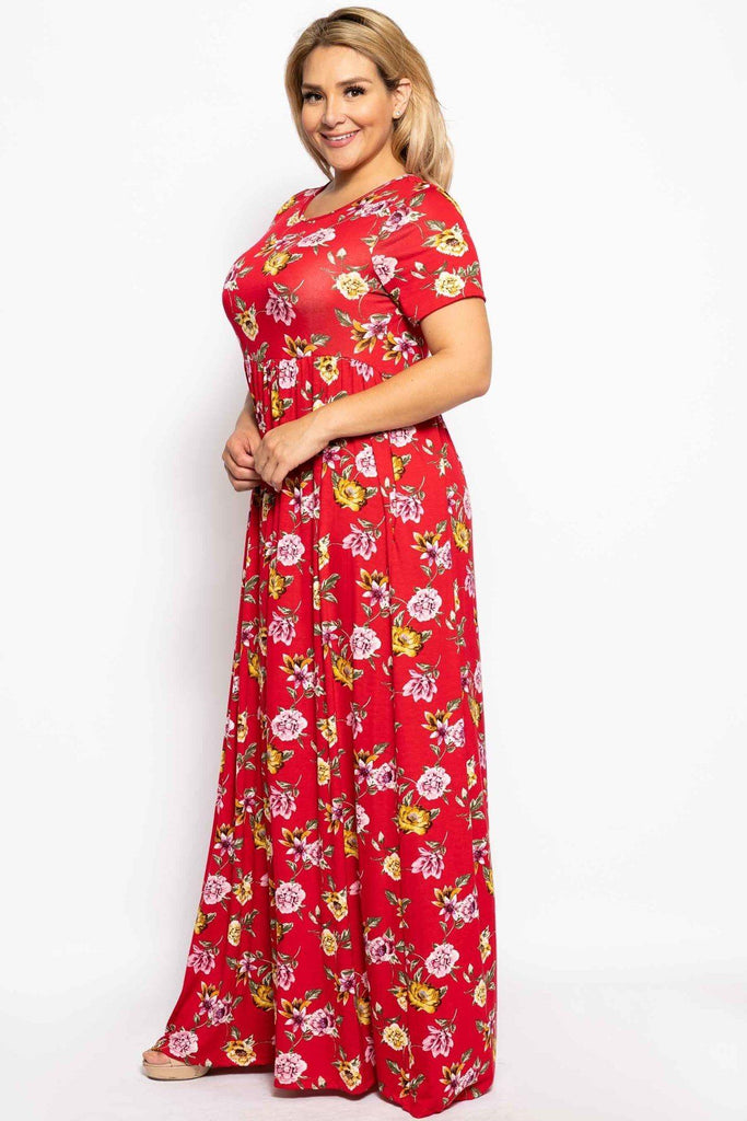 Living The Dream Maxi Dress - Multi-Color