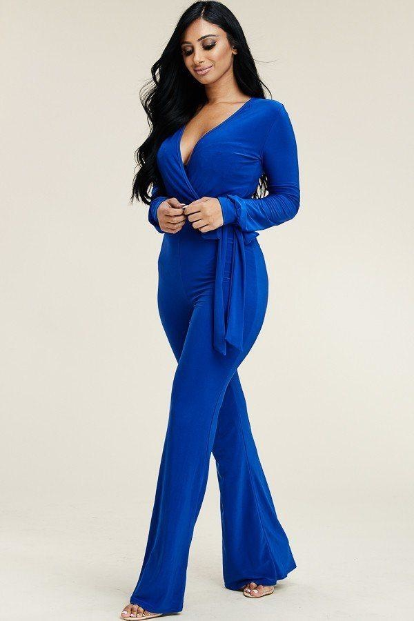Bring It On Modern Jumpsuit - Various Colors - Royal / US:22-24 | 3XL - Jumpsuits & Rompers