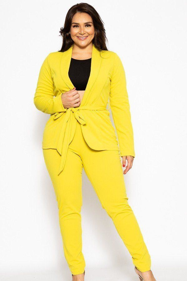Classic Winner Mode Suit - Chartreuse / US: 14-16 | XL - Jumpsuits & Rompers