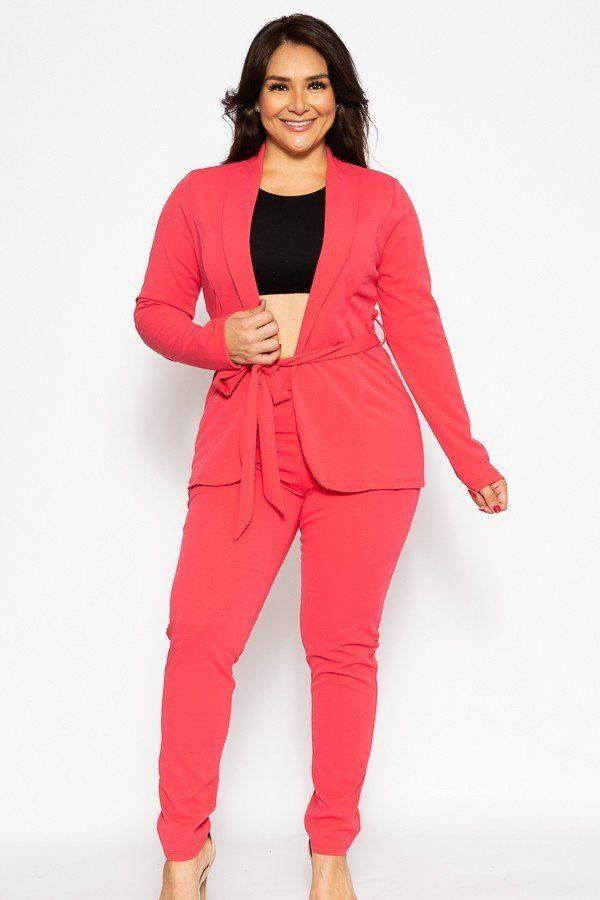 Classic Winner Mode Suit - Hot Pink / US: 14-16 | XL - Jumpsuits & Rompers