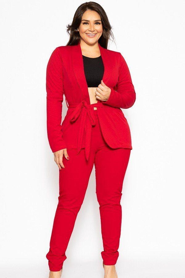 Classic Winner Mode Suit - Red / US: 14-16 | XL - Jumpsuits & Rompers