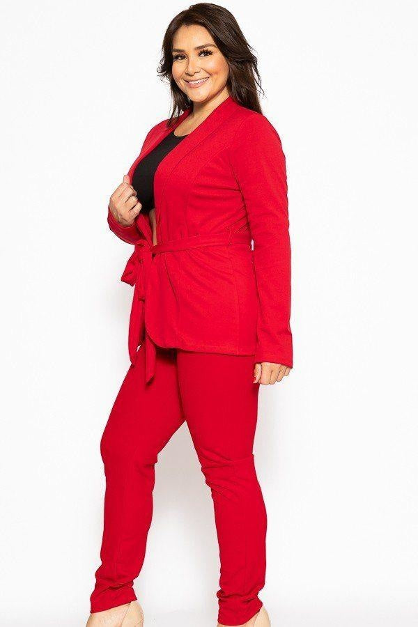 Classic Winner Mode Suit - Red / US:18-20 | 2XL - Jumpsuits & Rompers