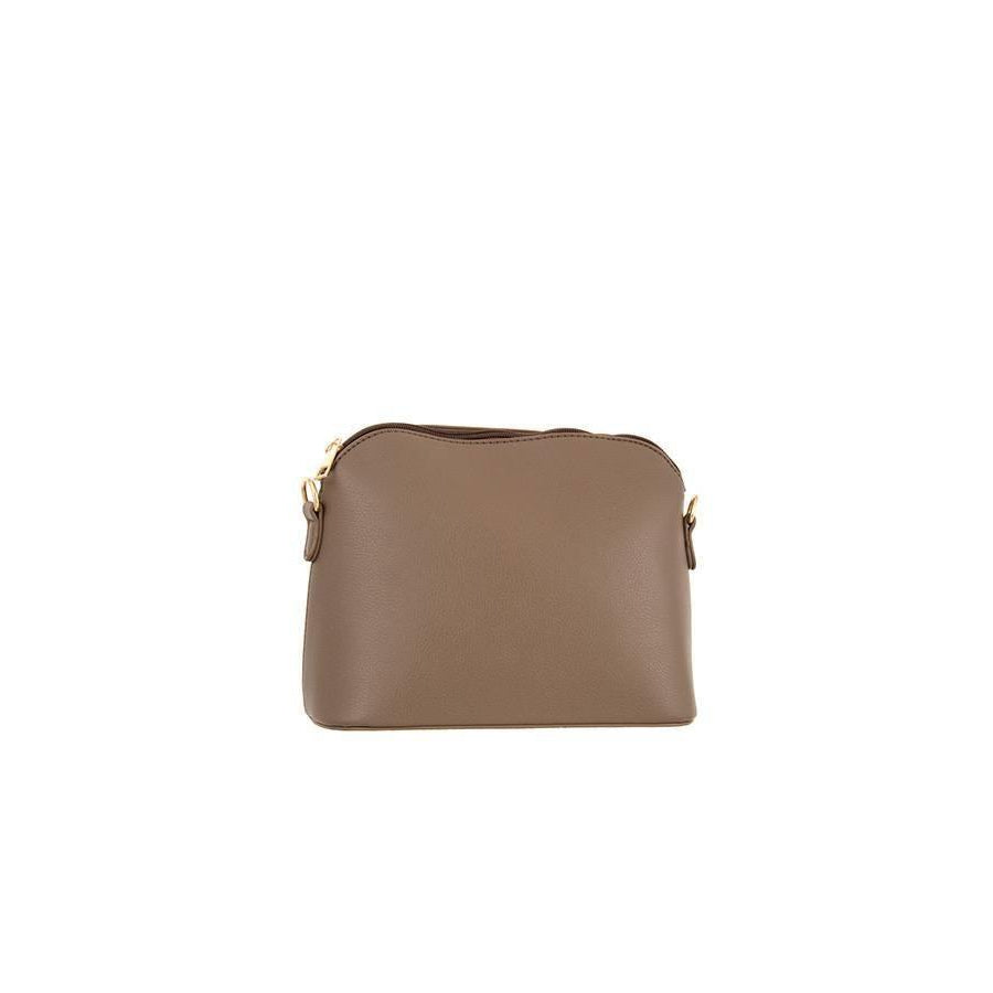 Dame Cleo Clutch Cross Bag - Taupe - Accessories - Handbag