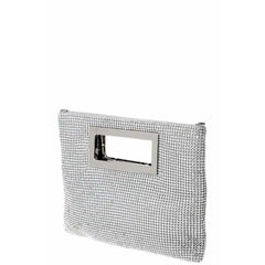 Handle On Life Textured Handbag - Silver - Accessories - Handbag