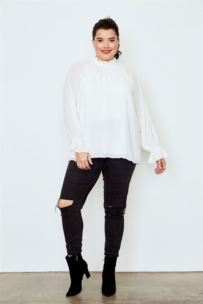 Nothing But Pearls Unique Top - Tops - Longsleeve