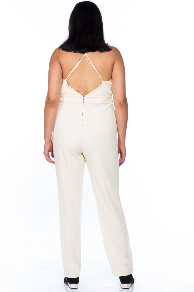 On Ivory Clouds Strapped Everyday Romper - Jumpsuits & Rompers