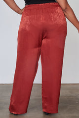 Red Rose Frill Bottoms - Bottoms - Pants