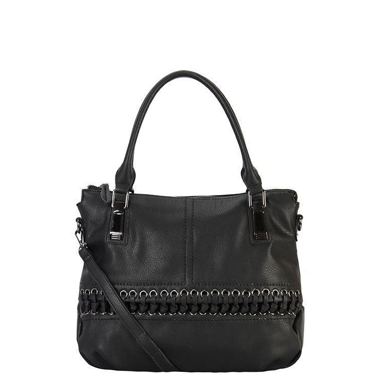 Sharon Diri Designer Tote Bag - Black