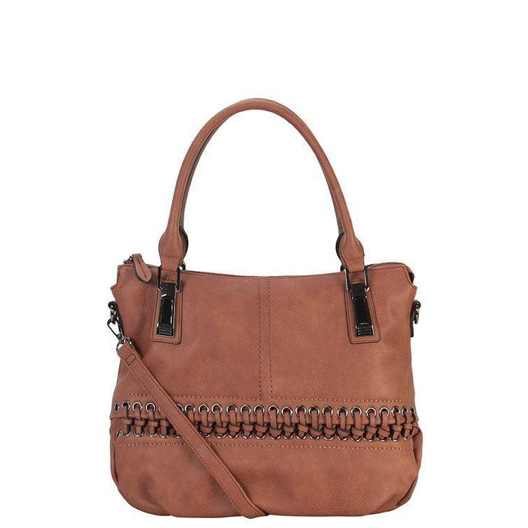Sharon Diri Designer Tote Bag - Brown