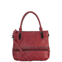 Sharon Diri Designer Tote Bag - Red