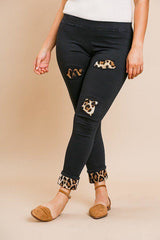 Skinny Animal Lover Pants - Black / US:10-12 | L - Bottoms - Pants
