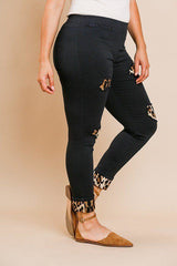 Skinny Animal Lover Pants - Black / US:18-20 | 2XL - Bottoms - Pants