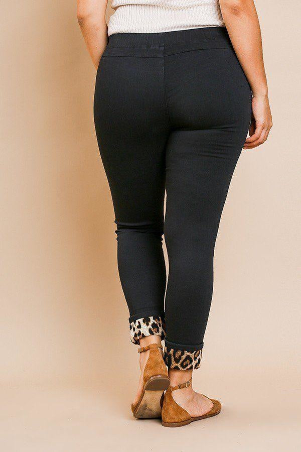 Skinny Animal Lover Pants - Bottoms - Pants