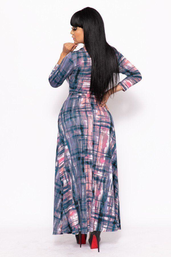 Splash It Up Maxi Dress