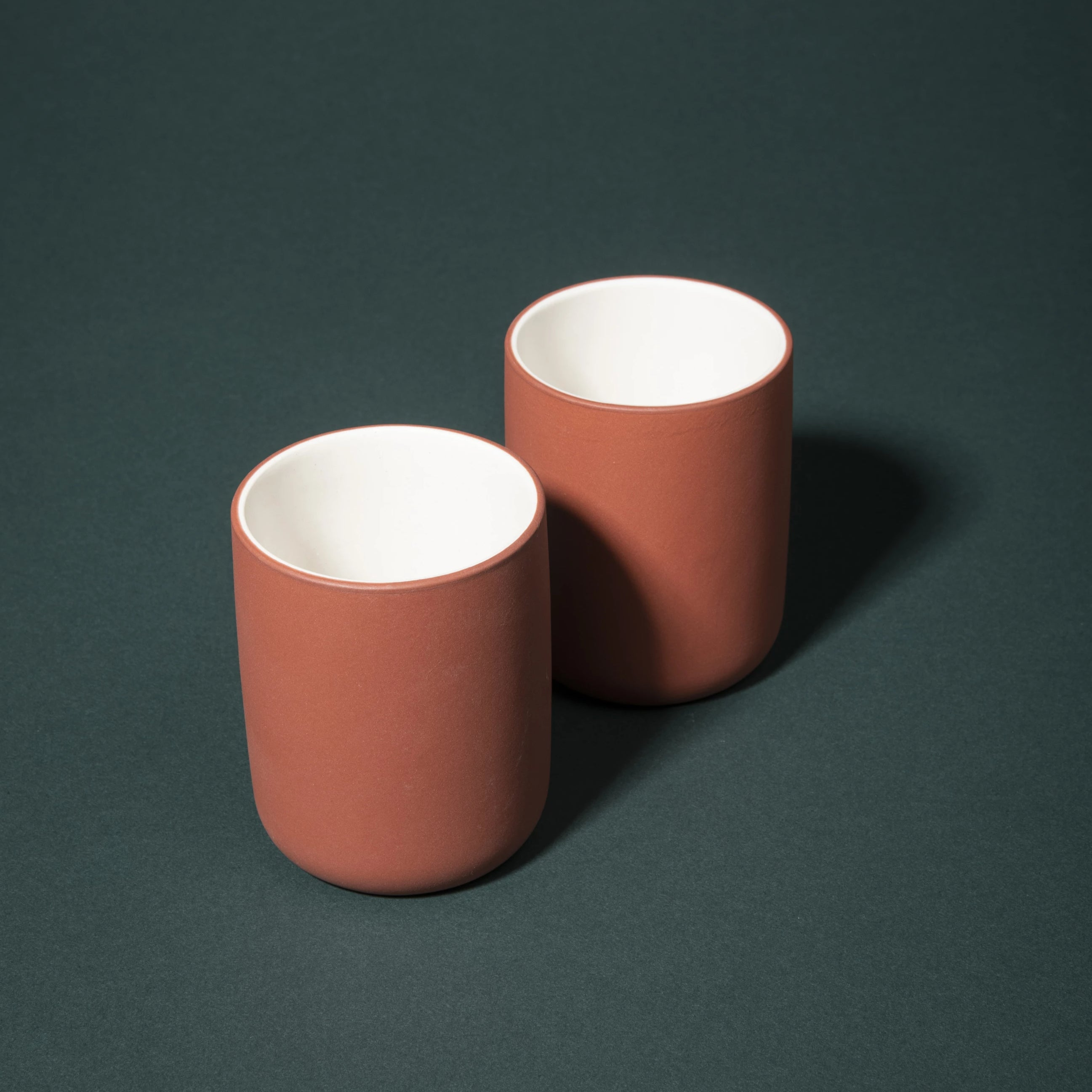 Archive Studio Amsterdam Terracotta Colored Stoneware Mugs