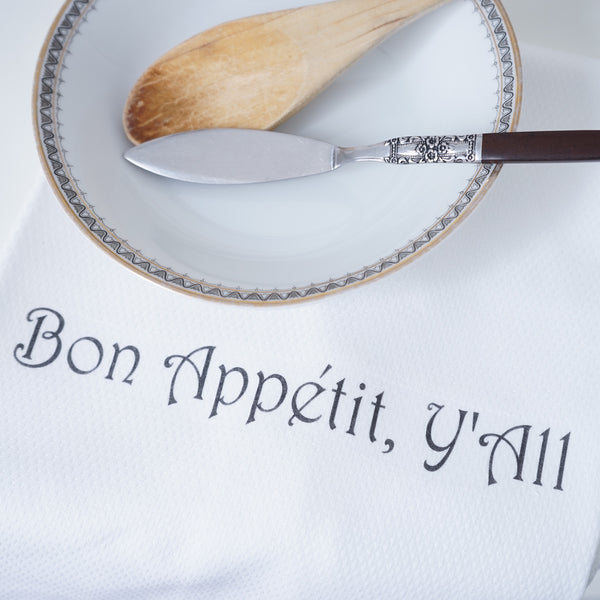 Bon Appétit Y'All Kitchen Towel - Lily