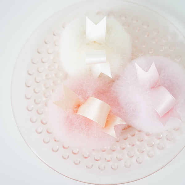 Swan's Down Powder Puffs from La Fee De Paris - Lily Charleston