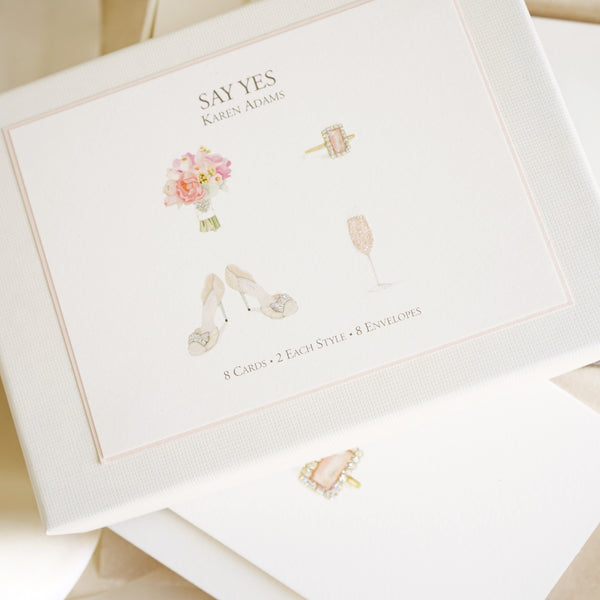 Say Yes Note Cards - Lily Charleston