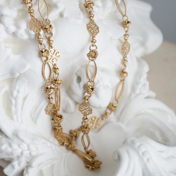 La Vie Parisienne Double Knot Necklace