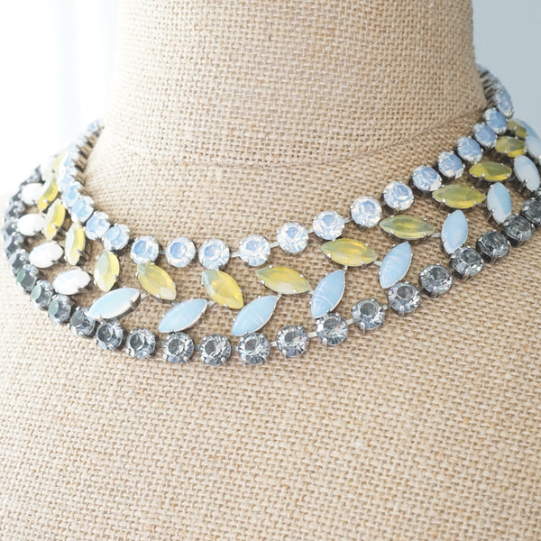 JL Blin Yellow Opal Collar - Lily Beaufort