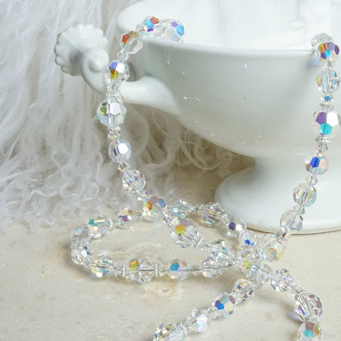 Aurora Borealis Crystal Necklace - Lily Charleston