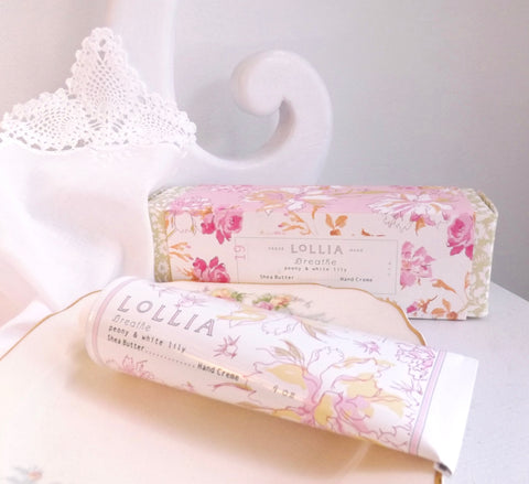 Lollia Breathe Shea Butter Hand Cream - Lily Charleston