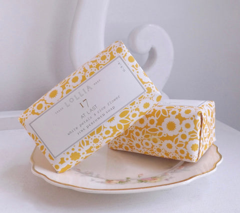 Lollia At Last Triple-Milled Soap - Lily Charleston